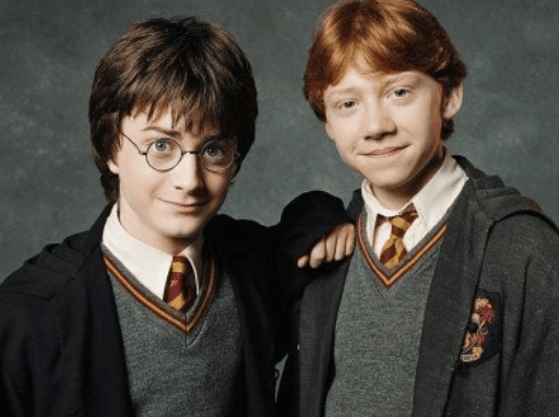 Harry and Ron were never portrayed as anything more than friends (Source: Twitter)