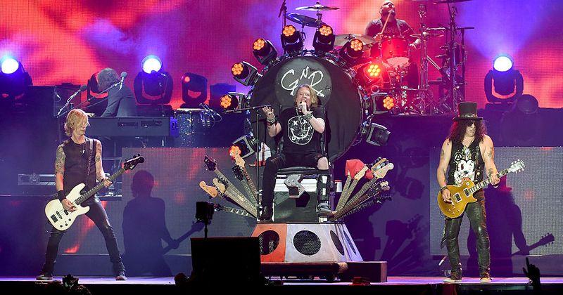 After Motley Crue biopic, Slash says film on Guns N' Roses