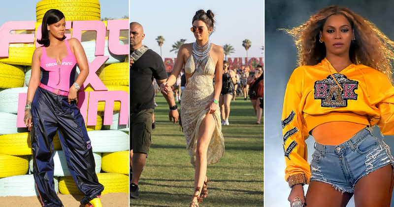 d4324687f Celebs at Coachella 2019: The 10 best celebrity outfits through the years