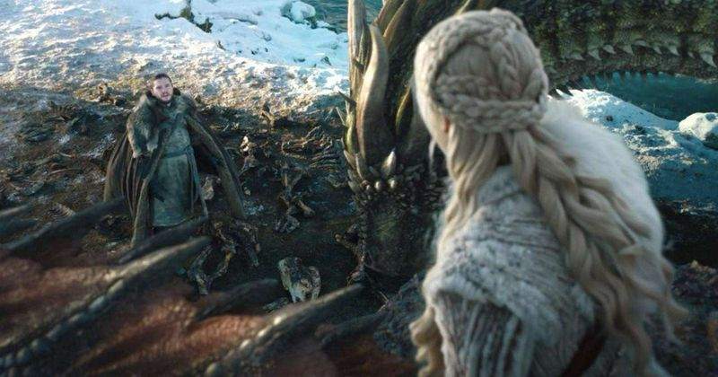 Jon Snow And Daenerys Dragon Ride Was The Silliest Moment In Game