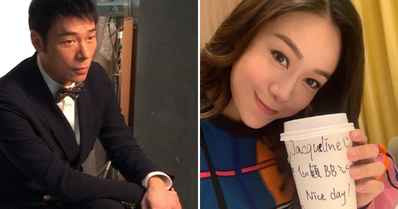 Hong Kong singer Andy Hui and actress Jacqueline Wong's