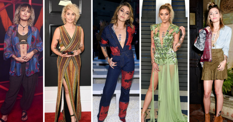 16086fbebd56 Paris Jackson's eclectic fashion reflects her personality as she makes her  way to becoming a style icon