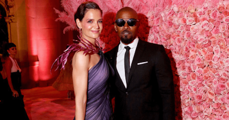 Jamie Foxx and Katie Holmes make their debut appearance together at Met Gala 2019