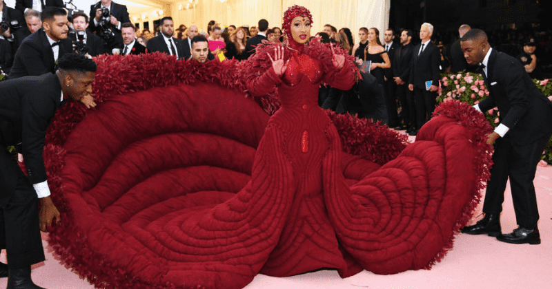 Met Gala 2019: Cardi B bleeds style on the red carpet in celebration of the 'female form'