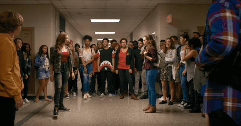 'Cobra Kai's Mary Mouser and Peyton List talk about their on and off-screen relationship while shooting season two