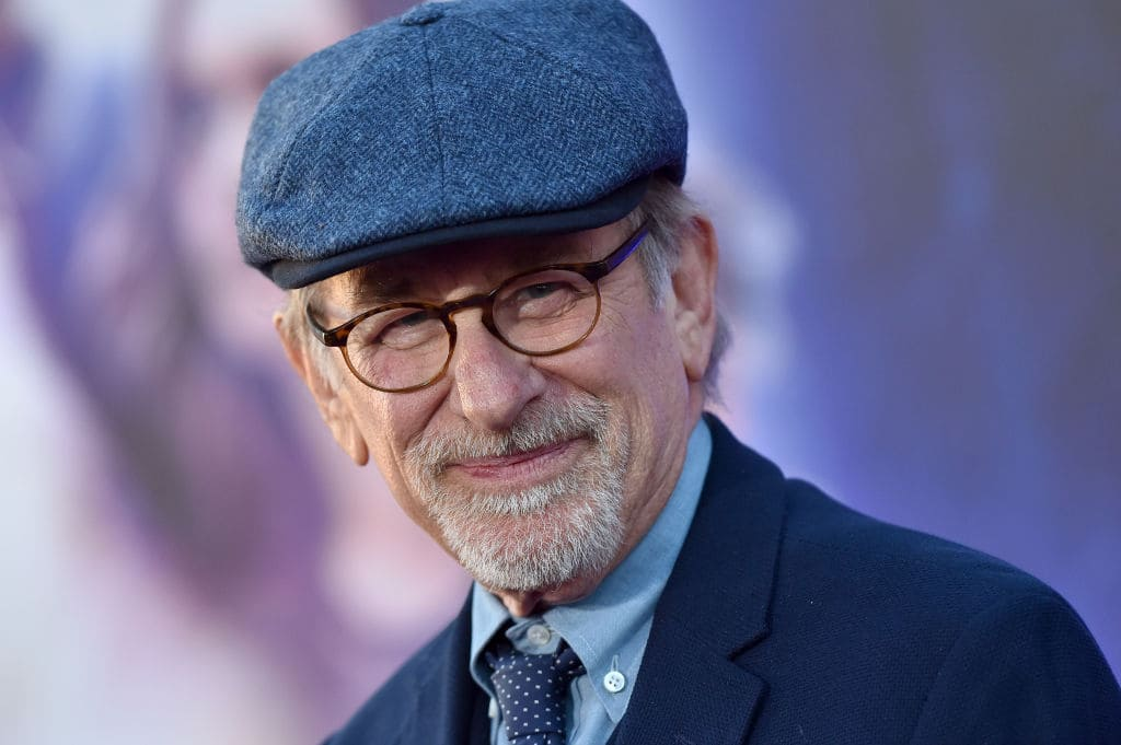 "Steven Spielberg is returning to his favorite target -- the adrenal gland -- with the release of ""Ready Player One,"" a high-octane love letter to the thrilling family films of the 1980s that made his fame."