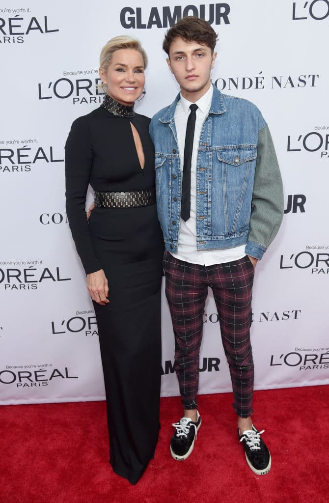 Yolanda and Anwar Hadid (Getty Images)