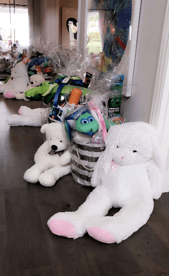 Stormi's Easter gifts (Snapchat)