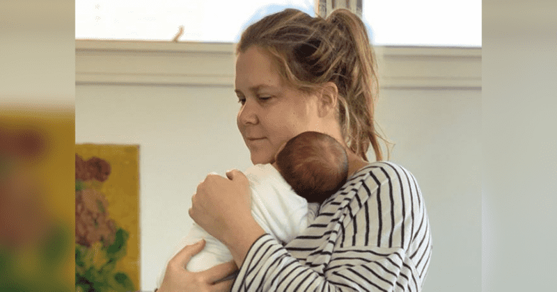 Amy Schumer opens up about 'violent' and 'awful' pregnancy, but says 'the second you give birth it's gone'
