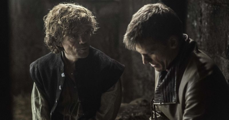 Image result for tyrion and jaime season 8 episode 5
