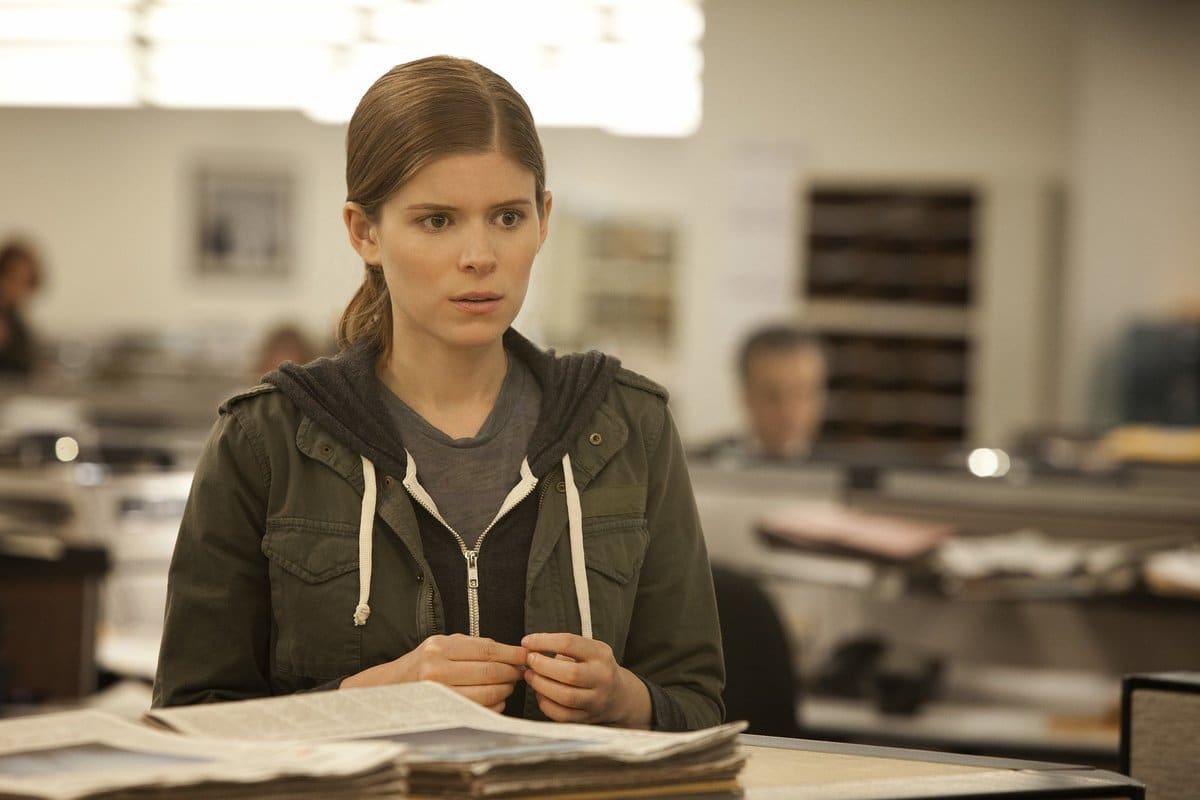Kate Mara played Zoe Barned on the show. (Twitter)