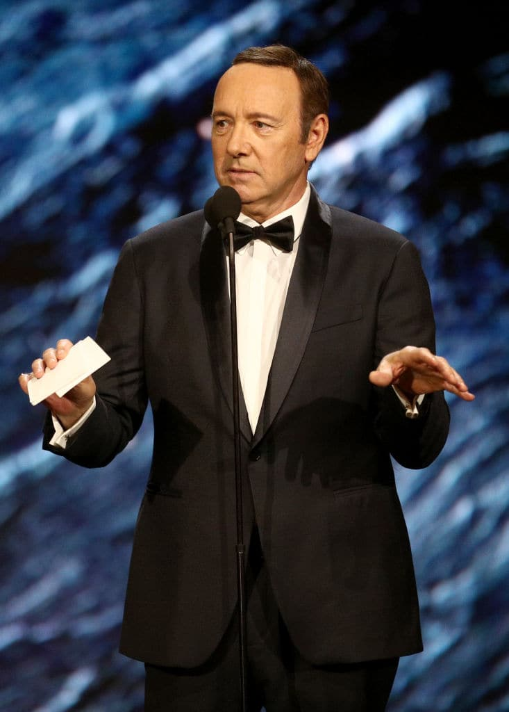 Kevin Spacey was blacklisted by the industry after the allegations came out. (Getty Images)