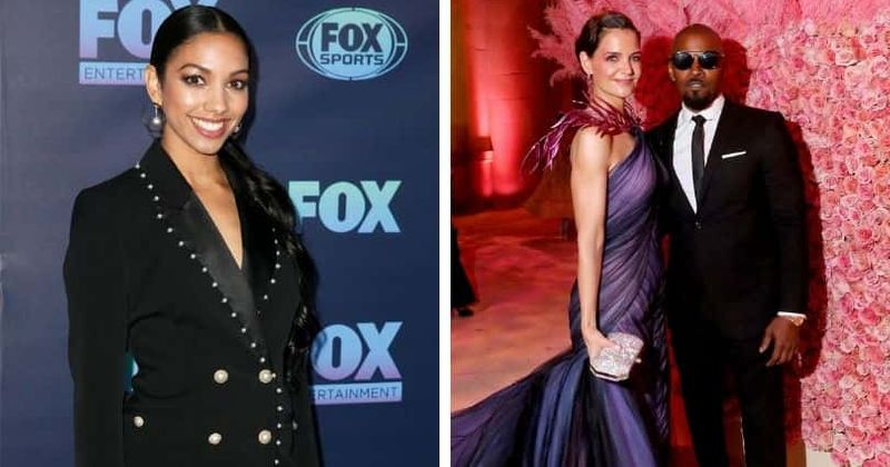 Jamie Foxx's daughter Corinne says Katie Holmes and her dad make a 'really great couple'