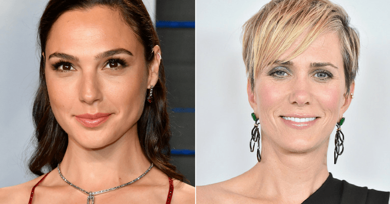 Gal Gadot and Kristen Wiig (Getty)