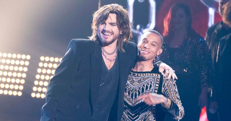 'American Idol' season 17 contestant Dimitrius Graham gushes about performing with Adam Lambert for the finale