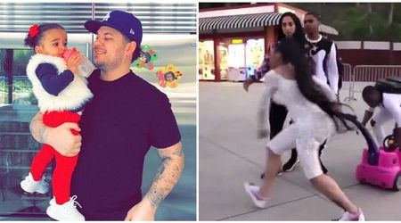 Rob Kardashian threatens 'to take Blac Chyna to court' over her wild fight at Six Flags