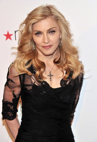Madonna's name was also brought up. (Getty Images)