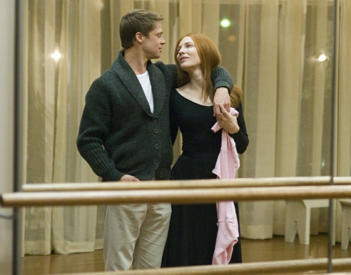 Brad Pitt and Cate Blanchett in 'The Curious Case of Benjamin Button' (Twitter)