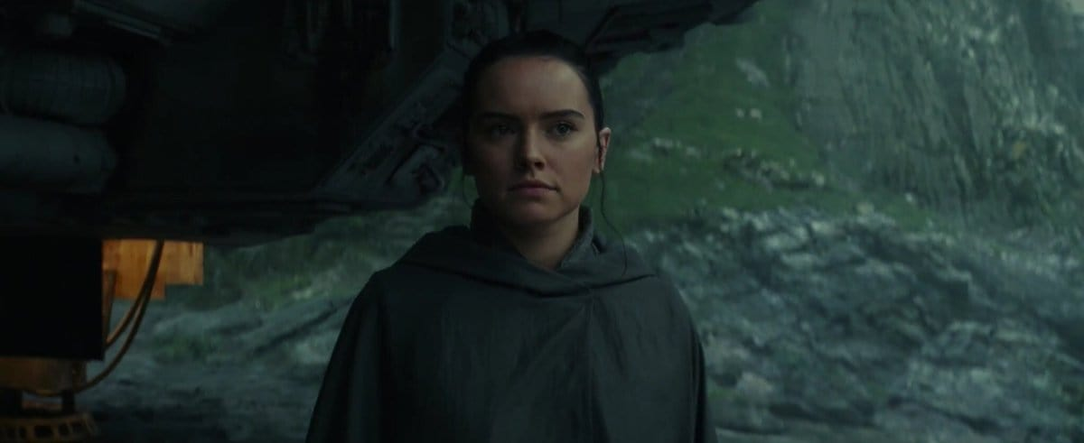 Daisy Ridley as Rey in 'The Force Awakens' (Twitter)