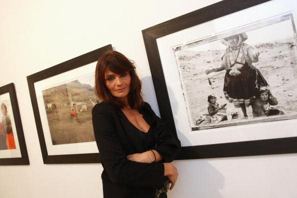 Helena Christensen launches her photographic exhibition 'Meltdown' at Proud Gallery Central on November 18, 2009 in London, England. (Photo by Dan Kitwood/Getty Images)