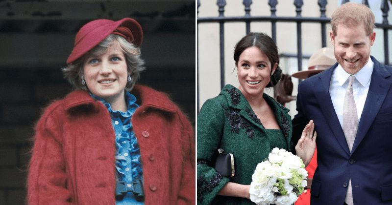 Prince Harry and Meghan Markle pay tribute to Princess Diana in powerful LGBTQ post celebrating the community