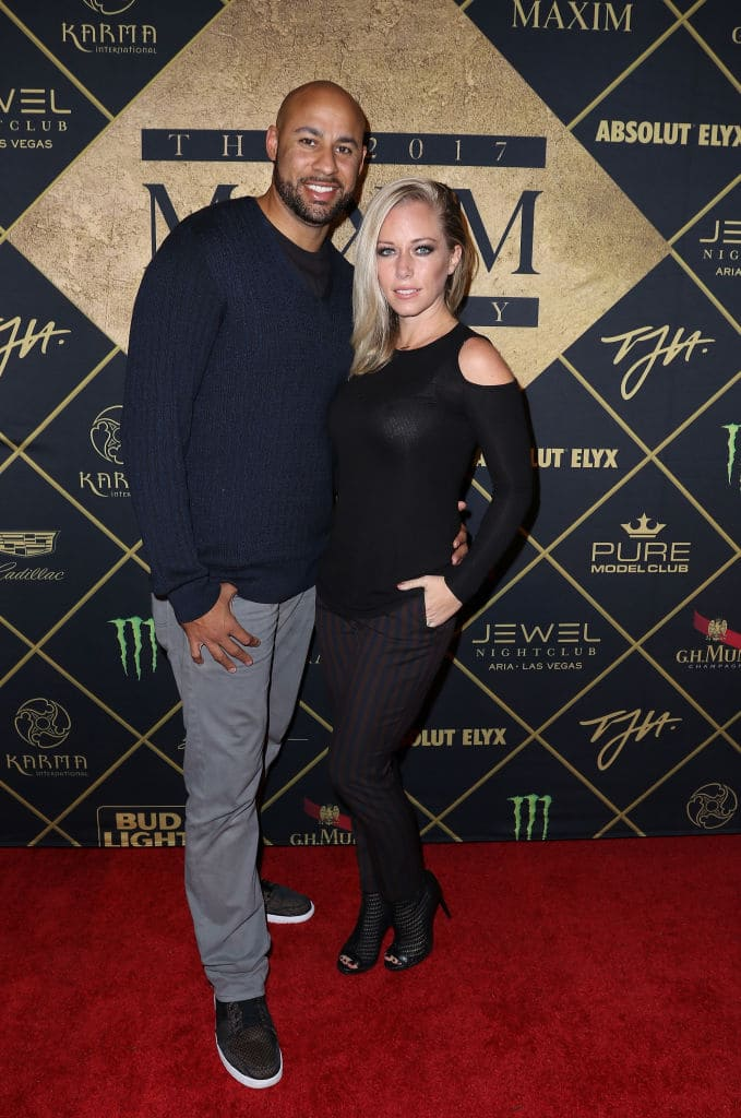 Kendra had spoken about their marital problems in her social media posts (Photo by John Parra/Getty Images for Maxim)