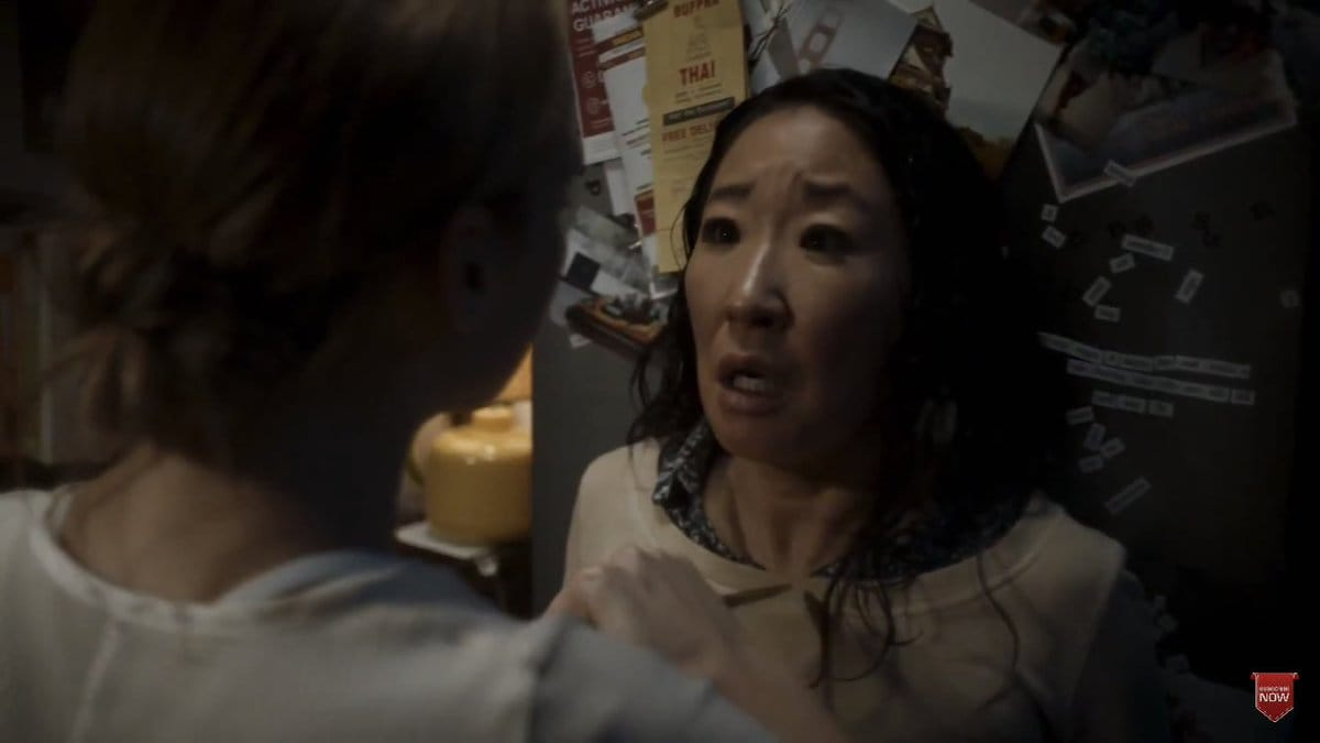 Sandra Oh and Jodie Comer in 'Killing Eve' (Twitter)