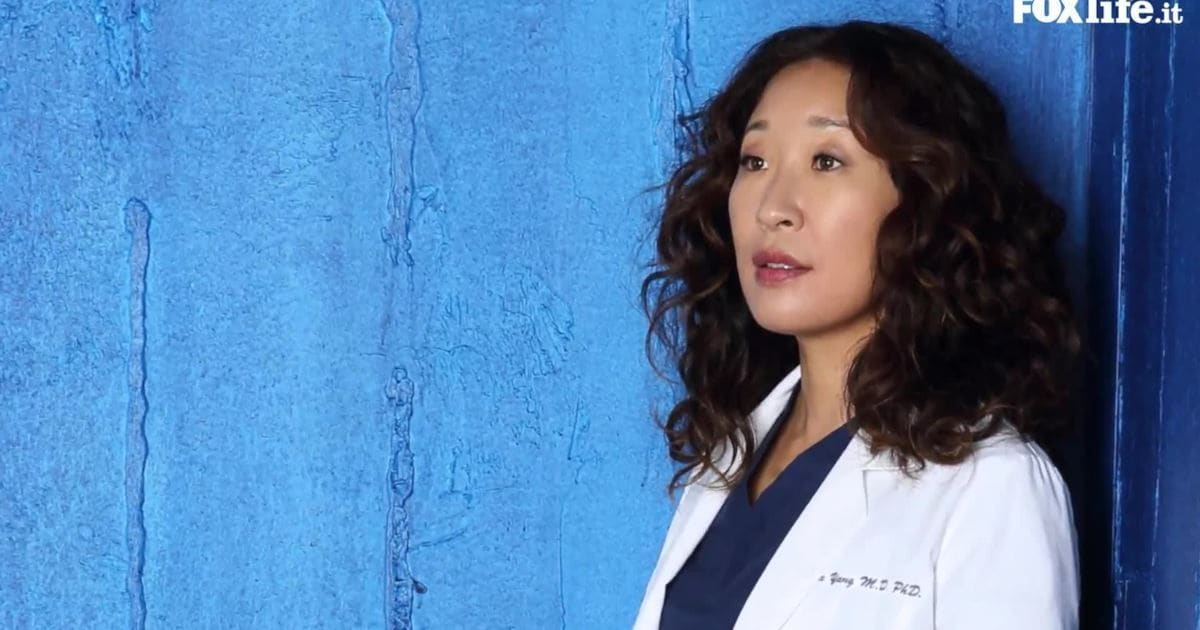 Sandra Oh as surgeon Cristina Yang in 'Grey's Anatomy' (Twitter)