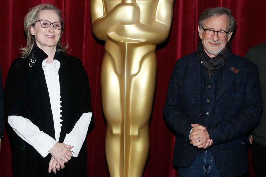 Meryl helped Steven find an exorcist (Photo by Lars Niki/Getty Images for The Academy of Motion Picture Arts & Sciences )