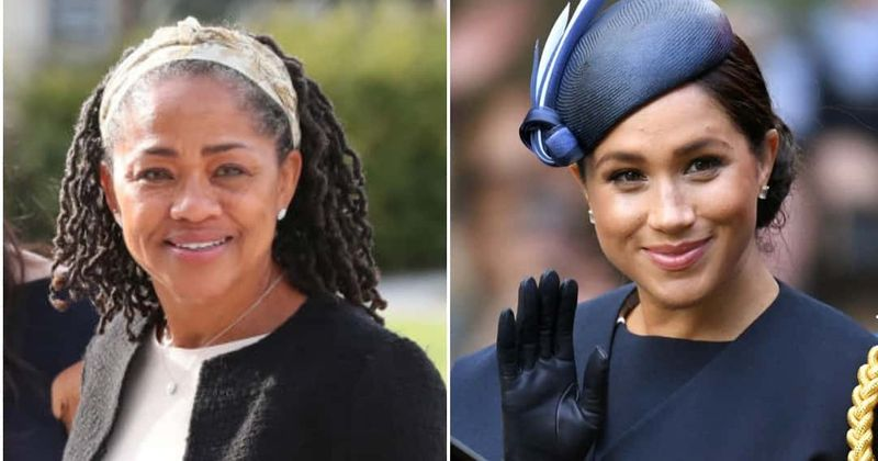Meghan Markle is the spitting image of her mother Doria Ragland as she makes first public appearance after giving birth