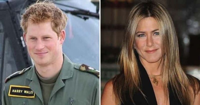 Prince Harry was obsessed with Jennifer Aniston after her nude magazine cover, thought she was 'princess material', claims new book