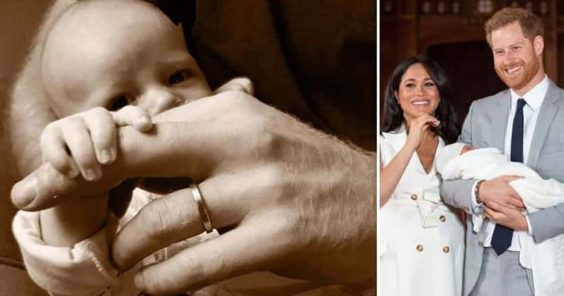 Prince Harry and Meghan Markle share adorable new photo of son Archie to celebrate Father's Day