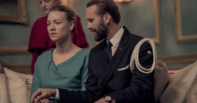 Serena and Fred cross into Canada in 'The Handmaid's Tale