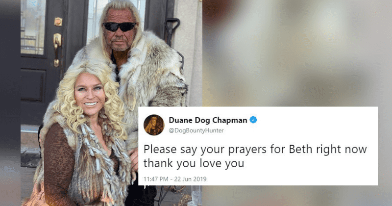 Dog The Bounty Hunter Shares Heartbreaking Photo Of Beth