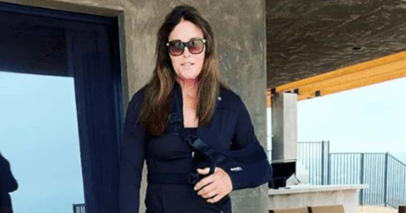 Caitlyn Jenner seen wearing bandages in first photo after shoulder surgery: 'This shoulder has been through a lot!'