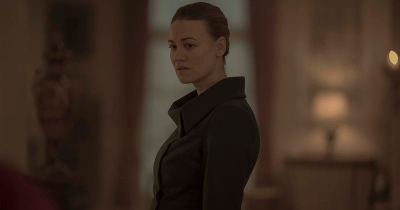 What is Serena Joy's long term game plan in 'The Handmaid's Tale' and how does joining hands with Fred Waterford help her?