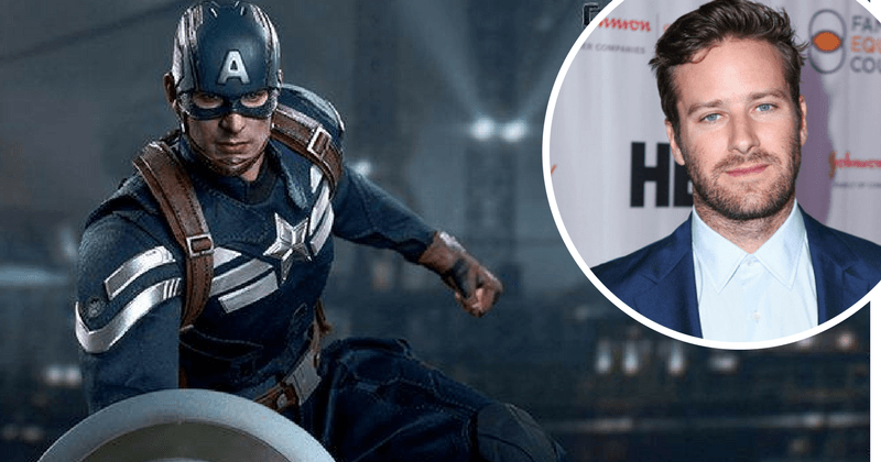 Can Armie Hammer take over Captain America's shield? 5 actors we think are fit to replace the Avengers in MCU