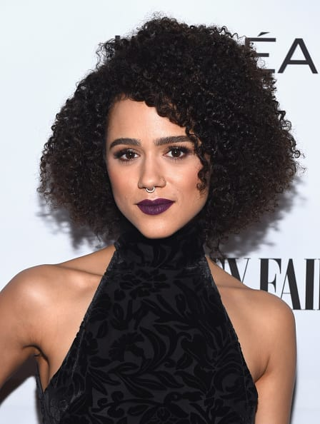 Actor Nathalie Emmanuel attends Vanity Fair and L'Oreal Paris Toast to Young Hollywood(Getty)