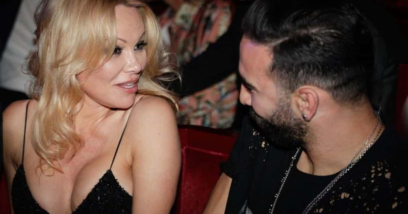 Pamela Anderson accuses former boyfriend Adil Rami of cheating and says she fears for her safety