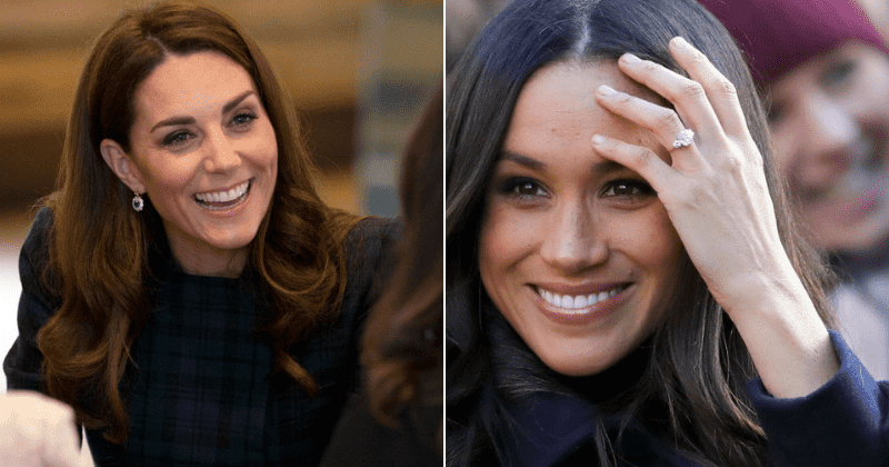 Princess Diana's jewels get makeover after Kate Middleton removed diamonds from her iconic earrings while Meghan Markle added bling to her ring