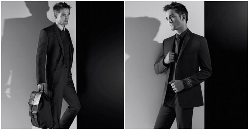 Robert Pattinson suits up and looks dapper in Dior Homme's latest autumn 2018 collection