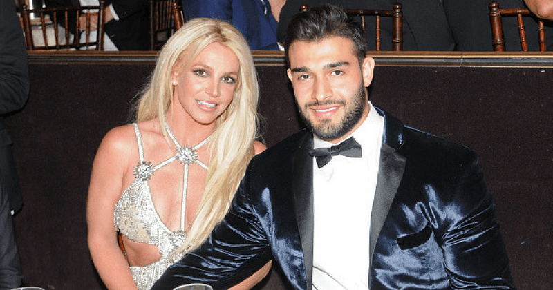 Britney Spears posts romantic video of her spinning and dancing with her boyfriend Sam Asghari