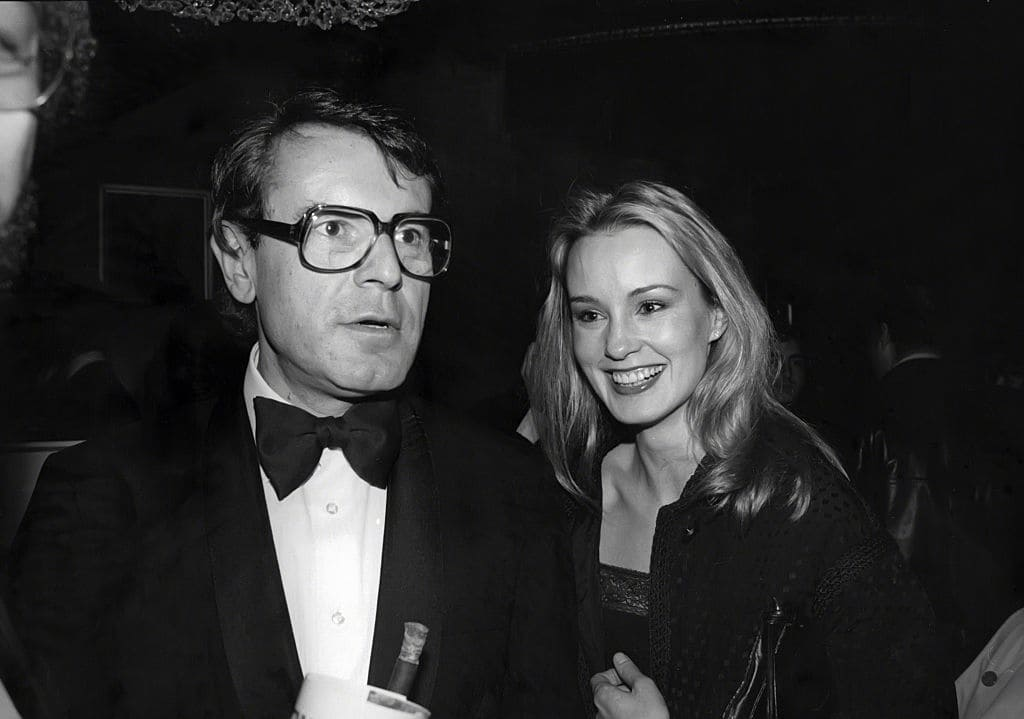 Milos Forman and Jessica Lange circa 1978 in New York City. (Photo by Robin Platzer/Images/Getty Images)