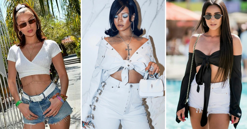 Rita Ora, Bella Hadid, Rihanna wow in festival fashion at Coachella