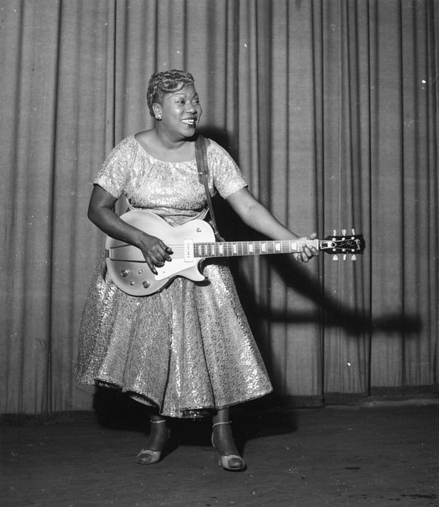 Sister Rosetta Tharpe, who died in 1973, was chosen for her early influence on rock (Getty Images)