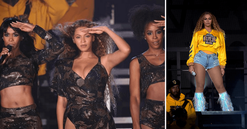 Beyonce makes history as the first black woman to headline Coachella with jaw-dropping show