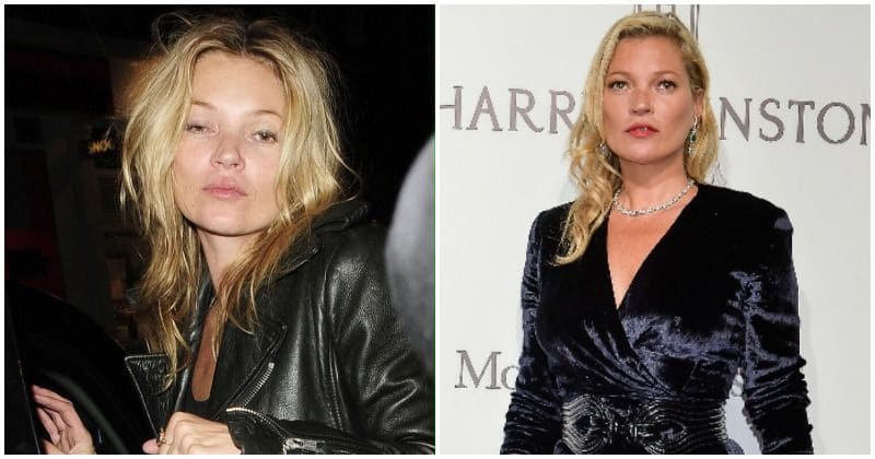 Kate Moss on the path to sobriety as she gives up drinking after 25 years of wild partying