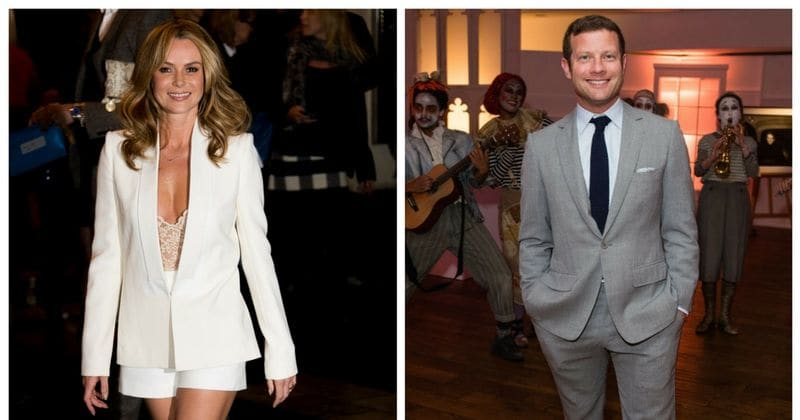 Dermot O'Leary and Amanda Holden plead with the public to rescue a Battersea dog or cat