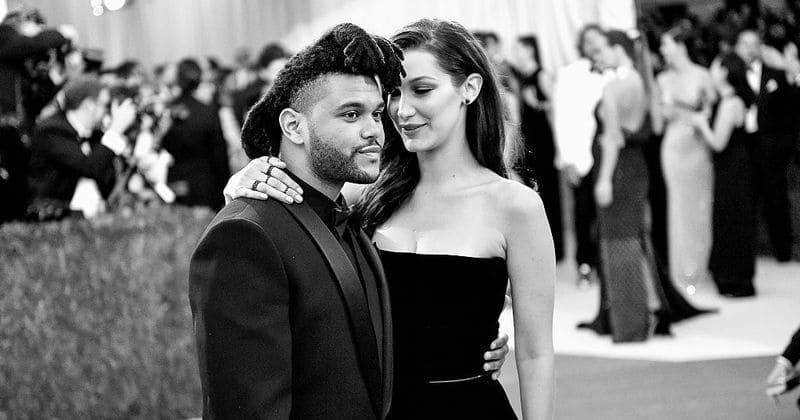 The Weeknd was spotted packing in a lot of PDA with ex-girlfriend Bella Hadid at Coachella