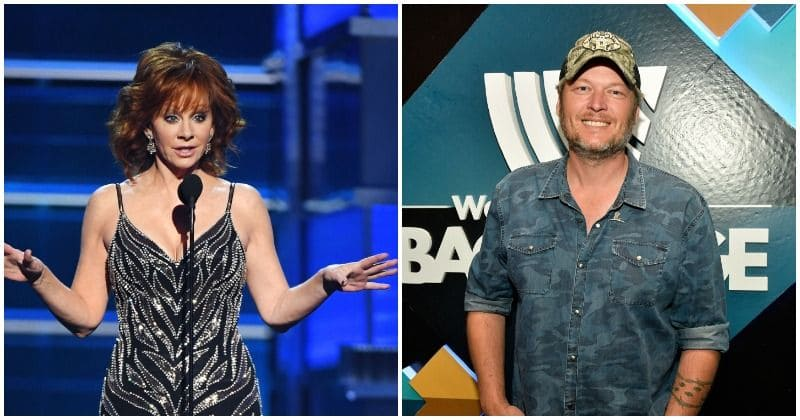 Reba McEntire jokes about Blake Shelton's hosting skills in her Academy of Country Music Awards opening speech